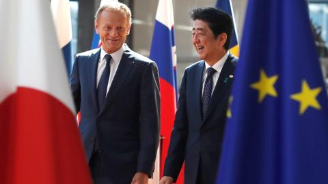 EU and Japan conclude 'gigantic' free trade agreement