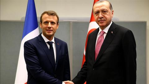 Erdogan, Macron will work together to urge US to reverse Jerusalem decision