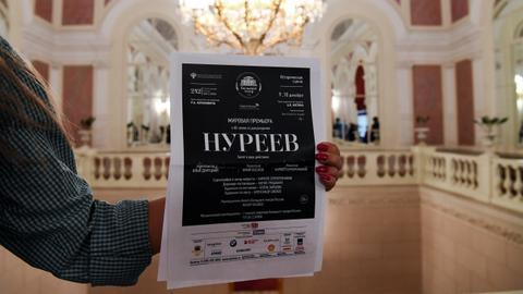 Delayed 'Nureyev' opens at Bolshoi Theatre with director under arrest
