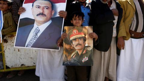 Yemen's Houthi rebels bury former president Saleh