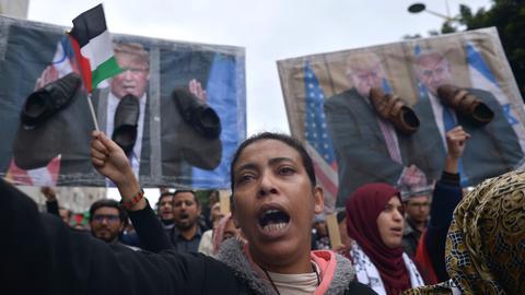 Global protests over US decision on Jerusalem