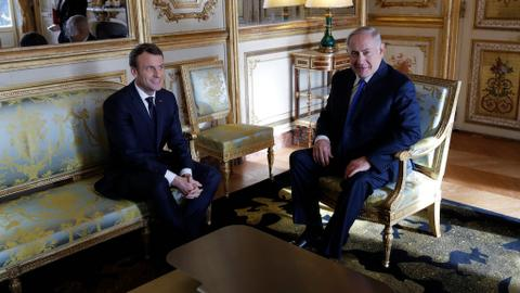 Macron and Netanyahu differ over Jerusalem decision