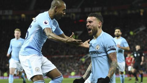 Manchester City wins derby, extending Premier League lead