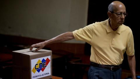 Venezuela's ruling party wins big in mayoral elections amid low turnout
