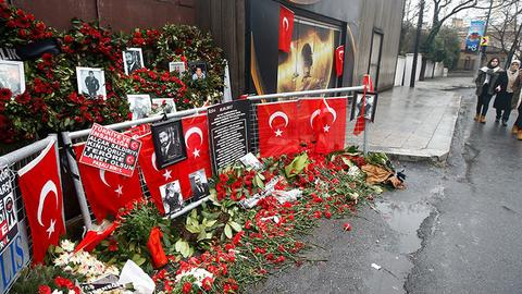 Trial begins against Istanbul nightclub gunman, dozens of other suspects