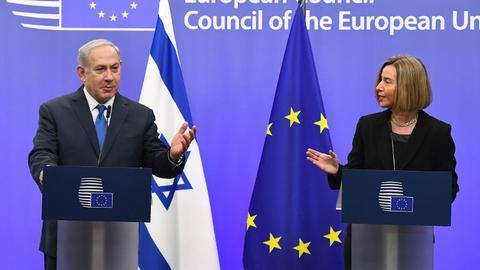 EU's Mogherini says Jerusalem should be capital of Palestine and Israel