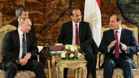 Egypt and Russia sign contract to build Egypt's first nuclear plant