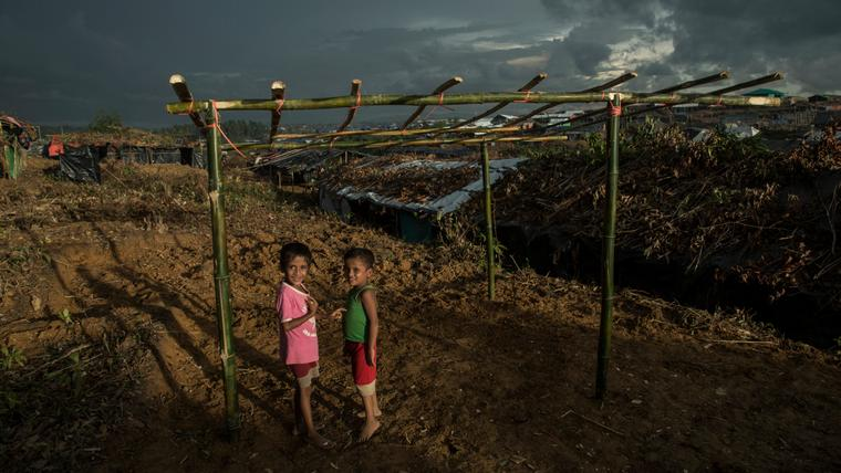 Rohingya children forced into exile