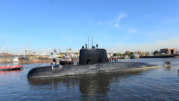'Explosion' heard near submarine's last known position: Argentina navy