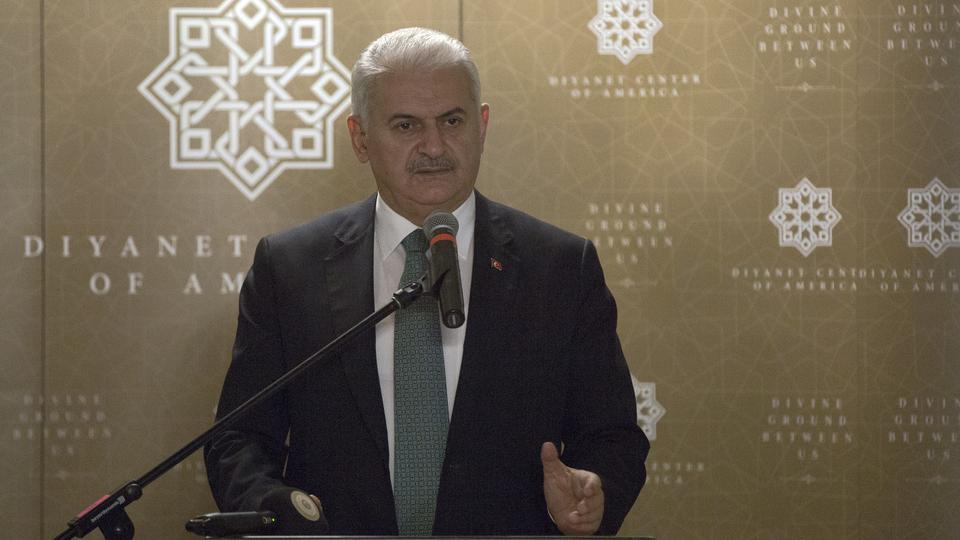 Turkey's Yildirim says U.S. visa move positive, calls for extradition of cleric