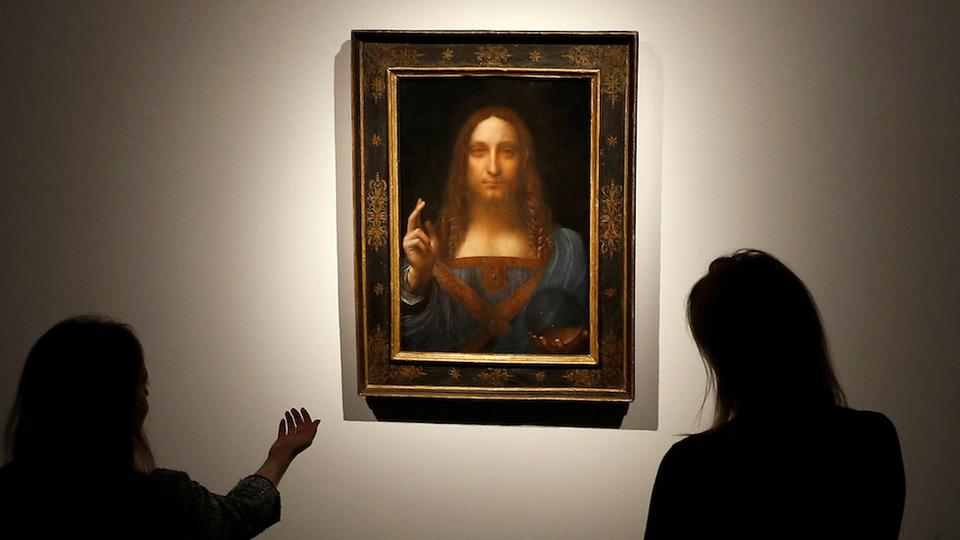 Da Vinci painting of Christ sells for record $450mn