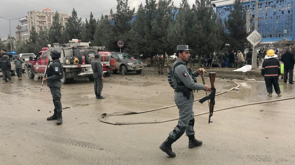 The suicide attack was the latest in a wave of violence in Afghanistan that has killed and wounded thousands of civilians this year. November 16, 2017.