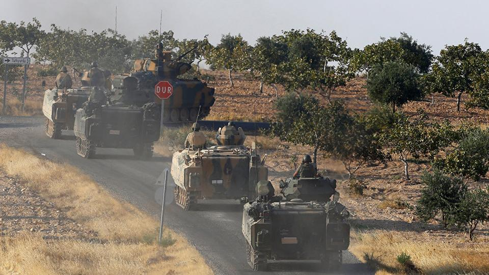 Kurdish-led force blames Turkey for attack in northern Syria