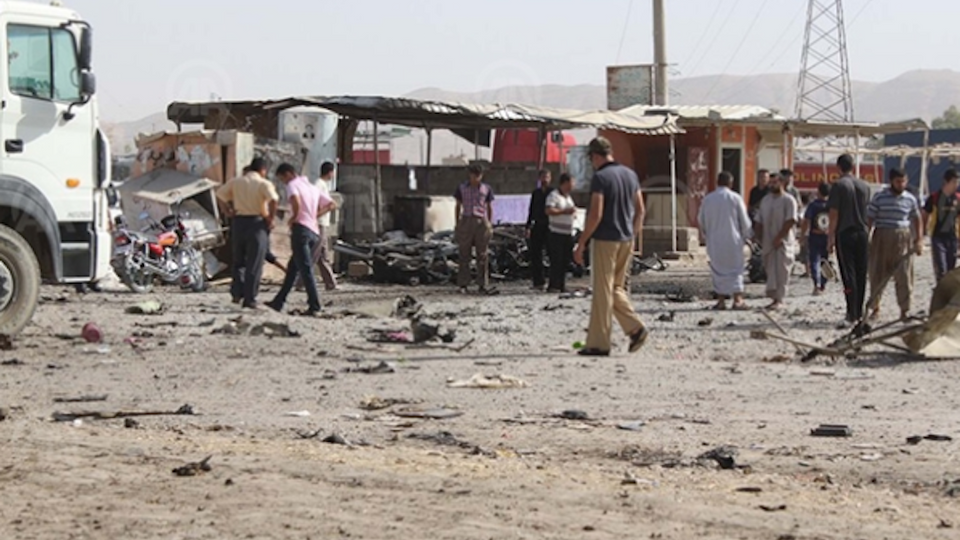 Bomb Kills at Least 20 in Iraq