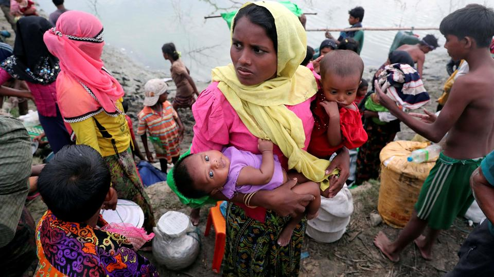 Further £12m of United Kingdom aid pledged to help Rohingya Muslims