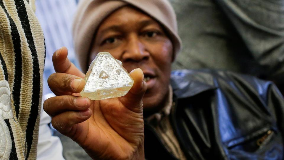 Sierra Leone diamond sold for $6.5million in NY auction