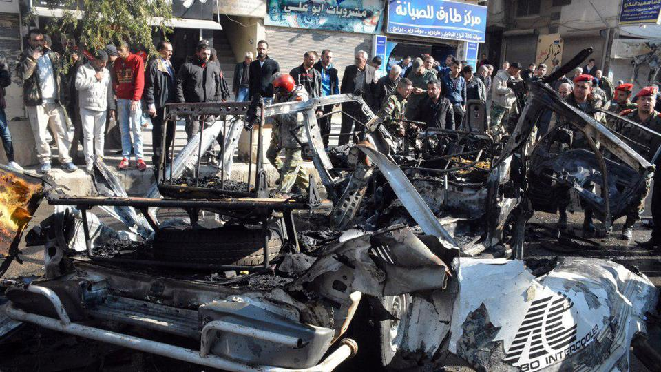 Seven killed, eight injured in Syria bus bombing