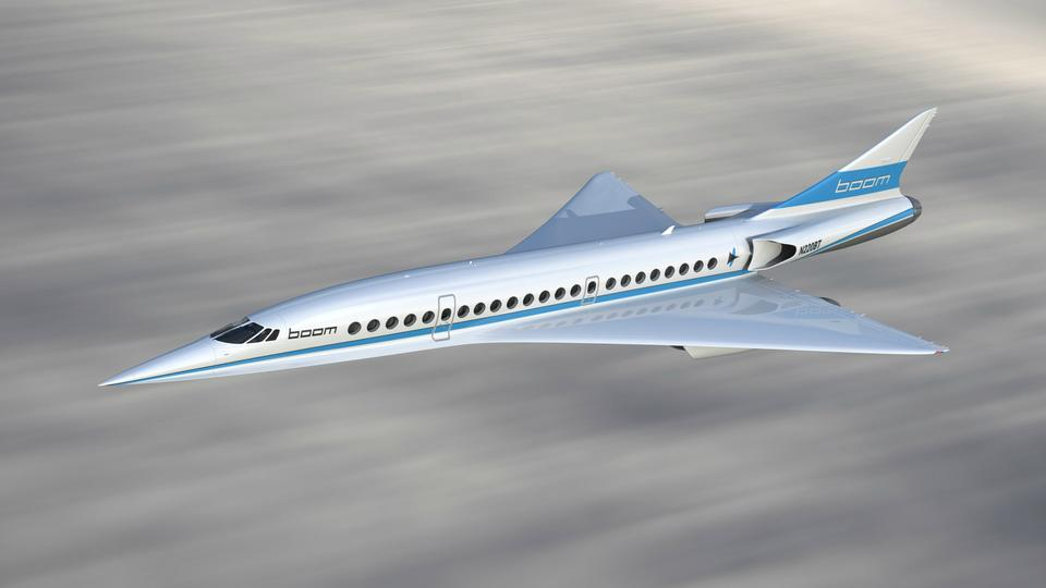 Boom supersonic jet plan boosted by $10-mn JAL funding