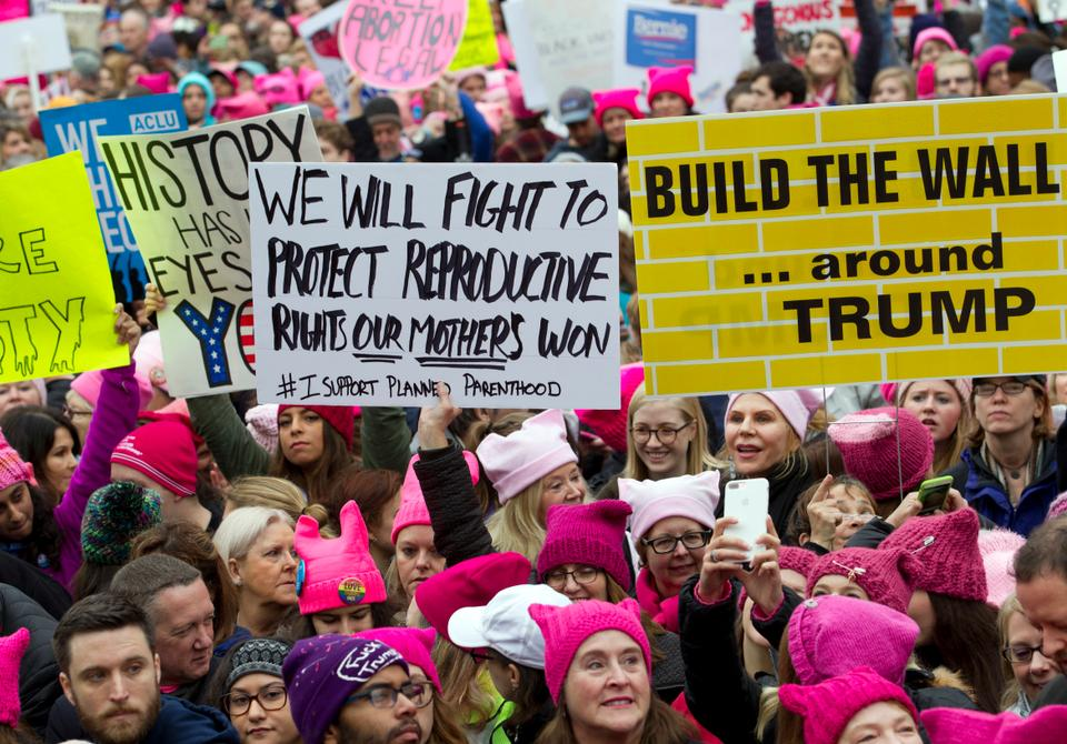 More than two-and-a-half million women marked the first full day of Donald Trump's presidency, on January 21, with protest.