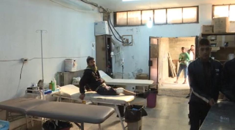 Several dozen health facilities have been bombed by the regime and its Russian allies in Idlib, forcing hospital emergency services to go underground.